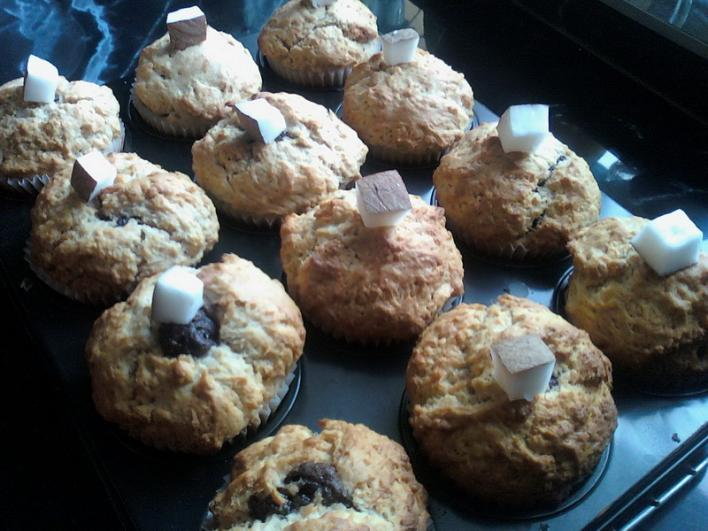 Csodálatos karácsonyi csokis-kókuszos muffin