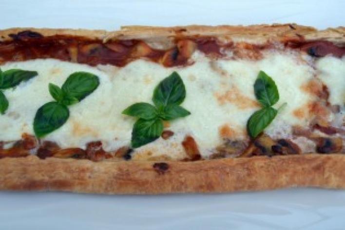 Milánói pizza leveles tésztából