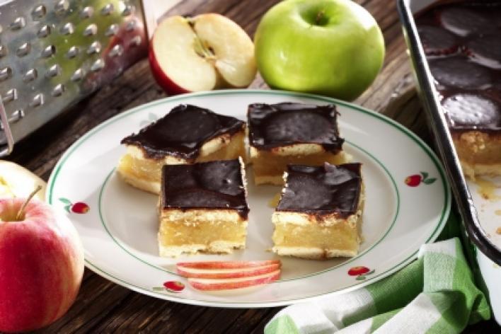 Kekszes almás sütés nélkül