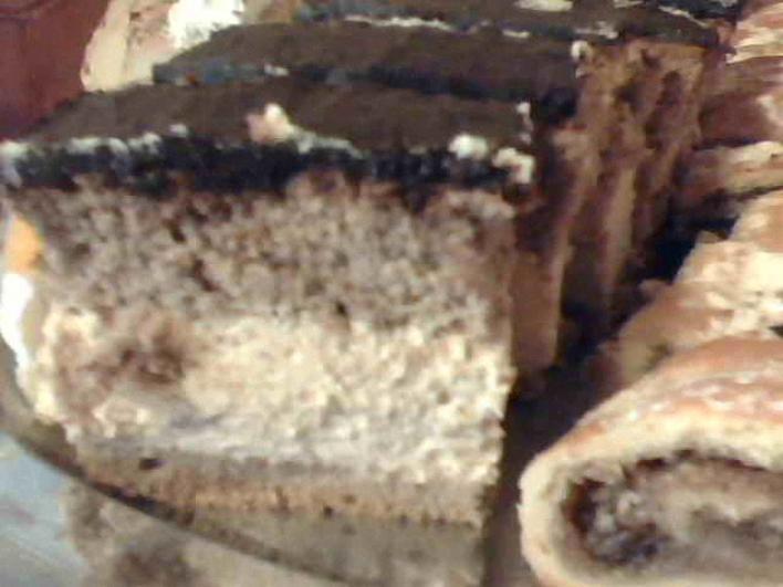 Csokis, gesztenyés szelet