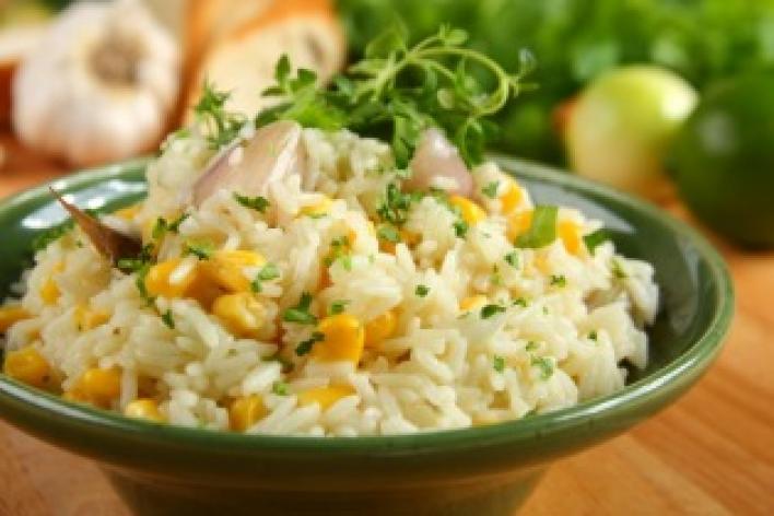 Kukoricás rizs