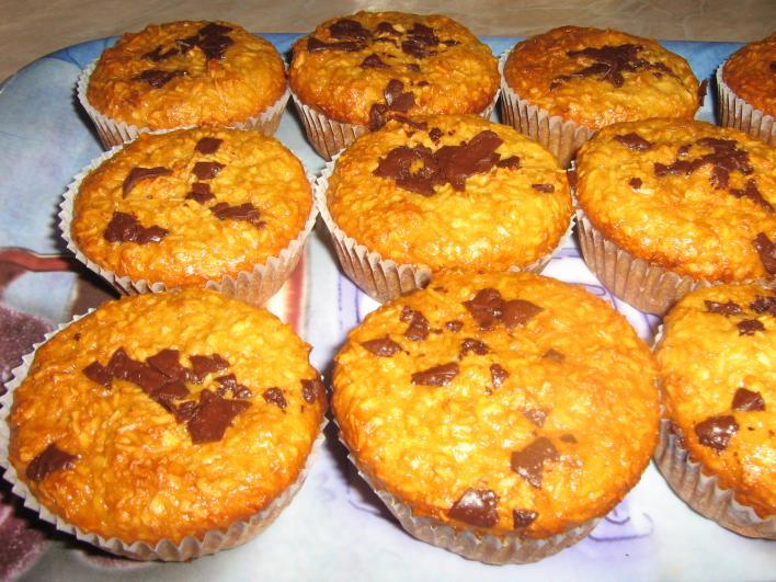 Kókuszos-mézes muffin
