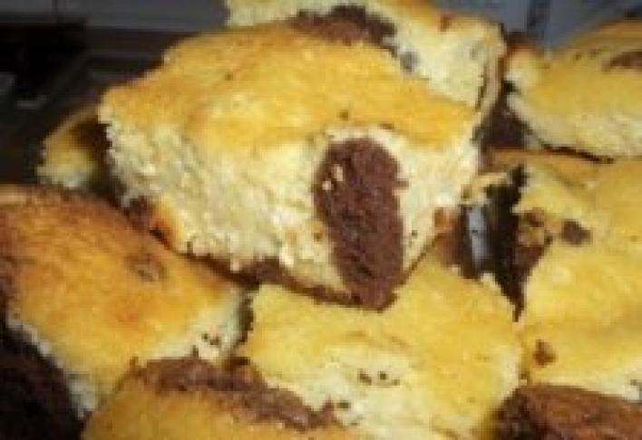 Kukucskálós túrós sütemény