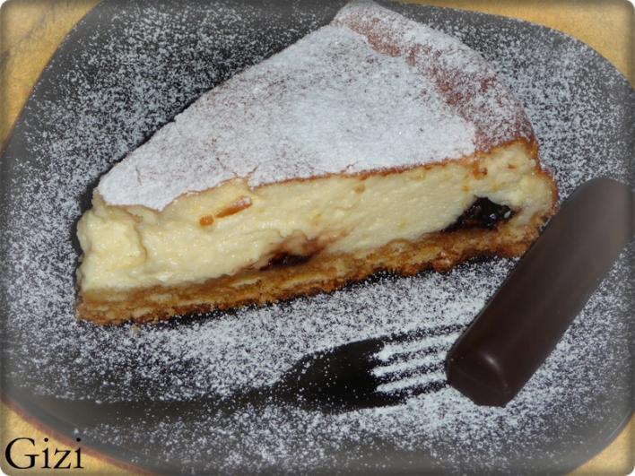 Mascarpones túrós-csokis torta