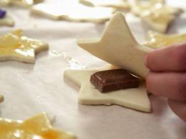 Csokoládés csillagtallér