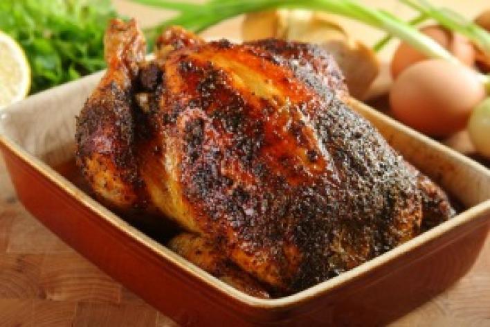 Töltött csirke