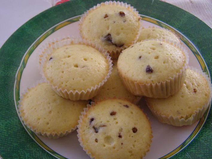 Sztracsatella muffin