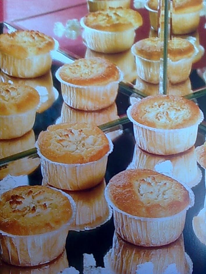 Nagyi túrós muffinja
