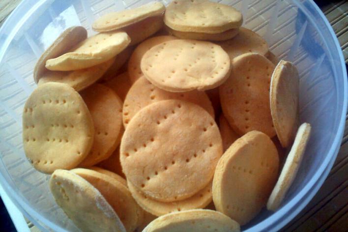 Háztartási keksz (gluténmentes)