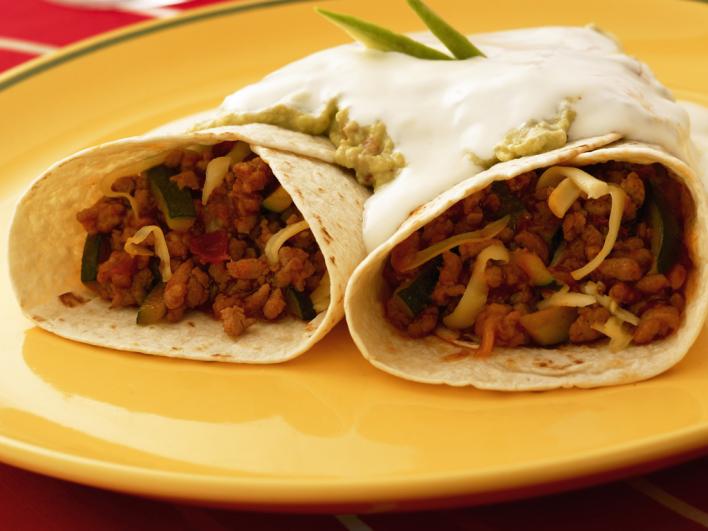 Mexikói burritos