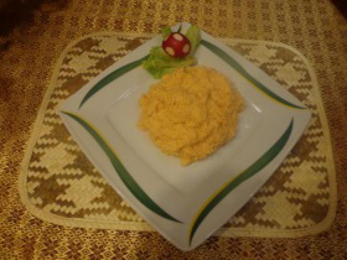 Nagymuzsalyi paprikás krumpli püré
