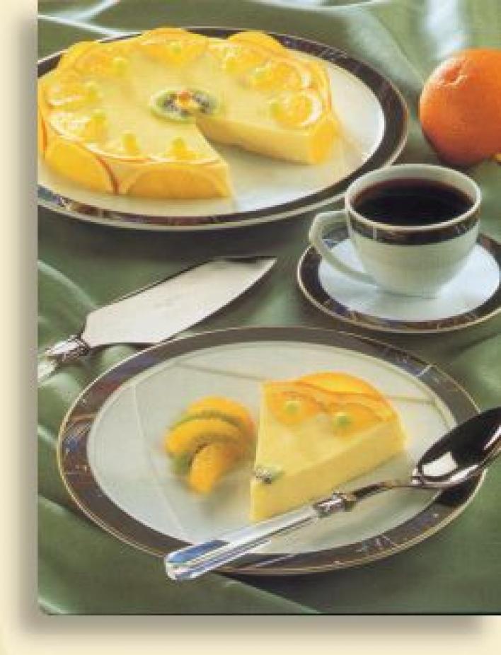 Diabetikus narancsos joghurttorta
