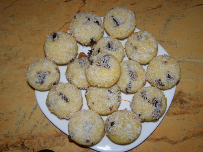 Kókuszkalapos muffin