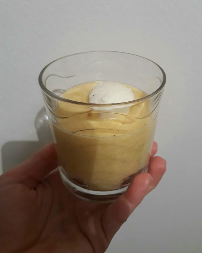 Laktózmentes madártej pohárkrém