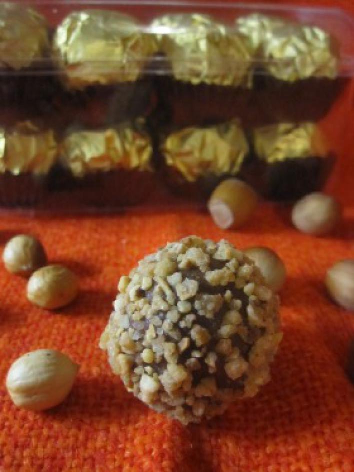 Ferrero Rocher házilag
