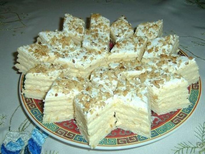 Hófehérke sütemény