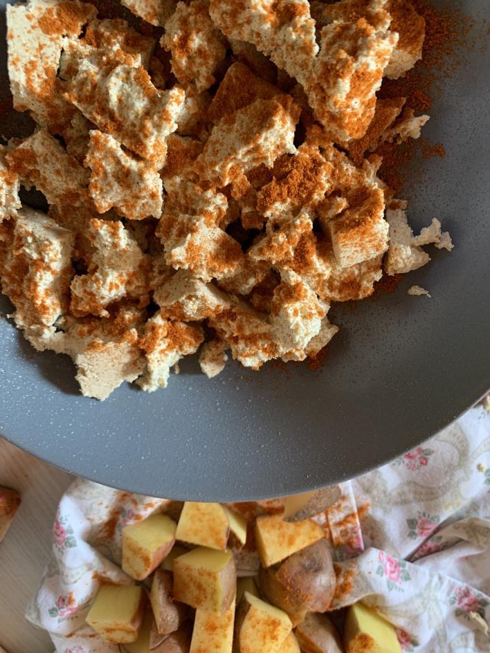 Vegán brassói - Dóri's Delicious Dishes konyhájából