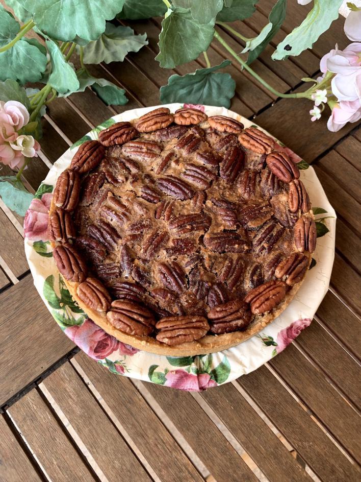 Szénhidrátcsökkentett pekánpite némi csavarral - Dóri's Delicious Dishes konyhájából