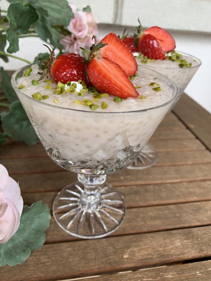 Tápióka pohárdesszert - Dóri's Delicious Dishes konyhájából