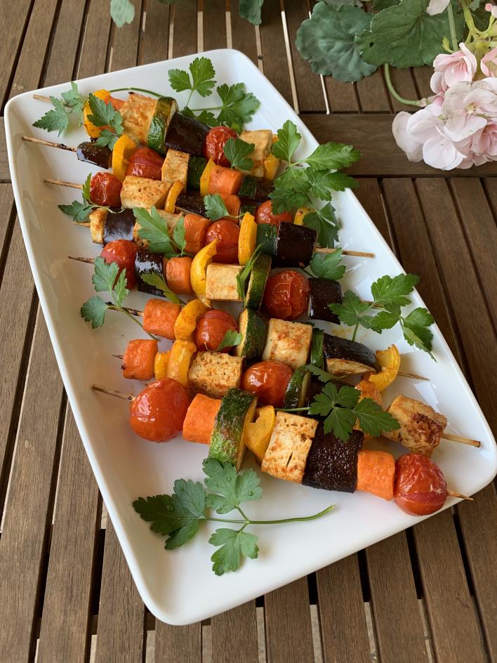 Apák napi vegán saslik - Dóri's Delicious Dishes konyhájából