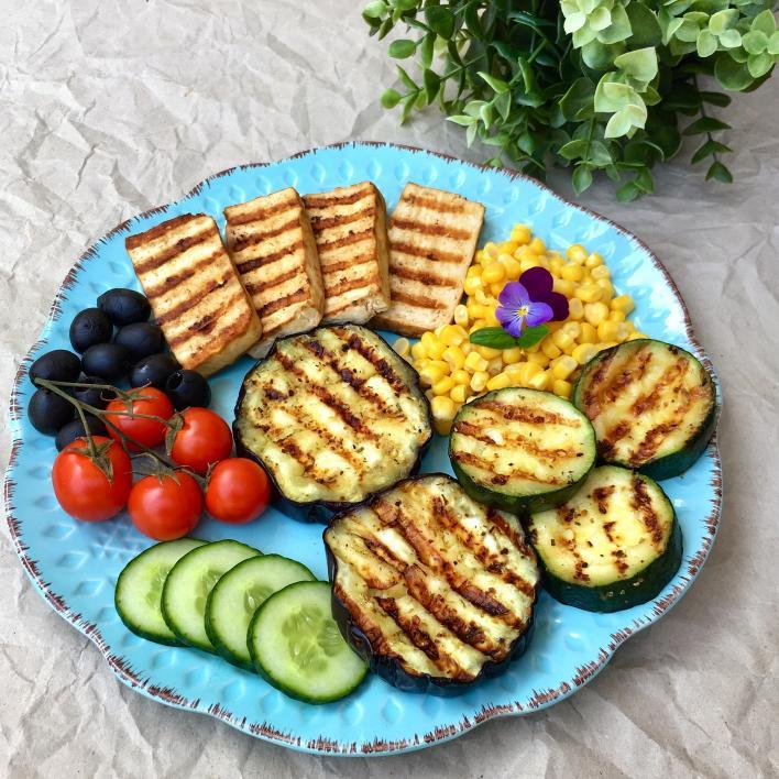 Vegán grilltál - Garádi Zsofka konyhájából