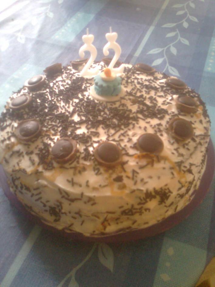Karamellás torta