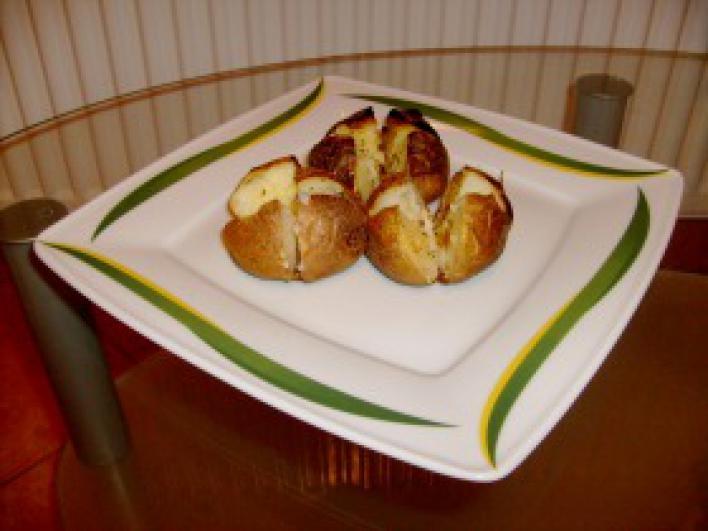 Héjában sült fűszeres burgonya
