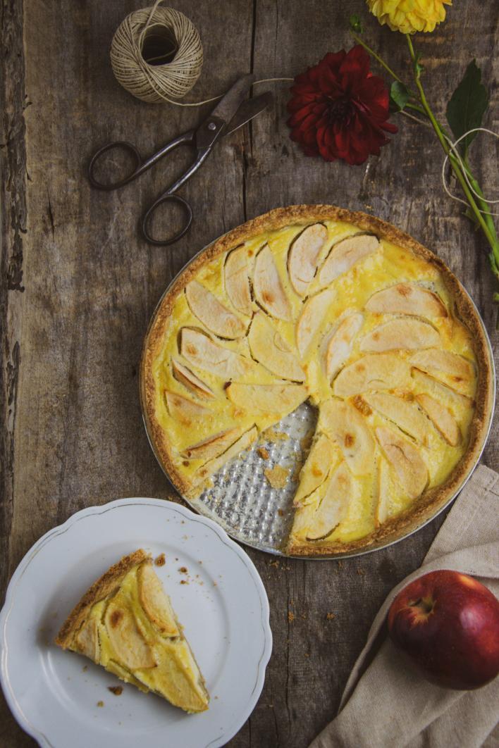 Elzászi almatorta - Iklódi Dóri konyhájából