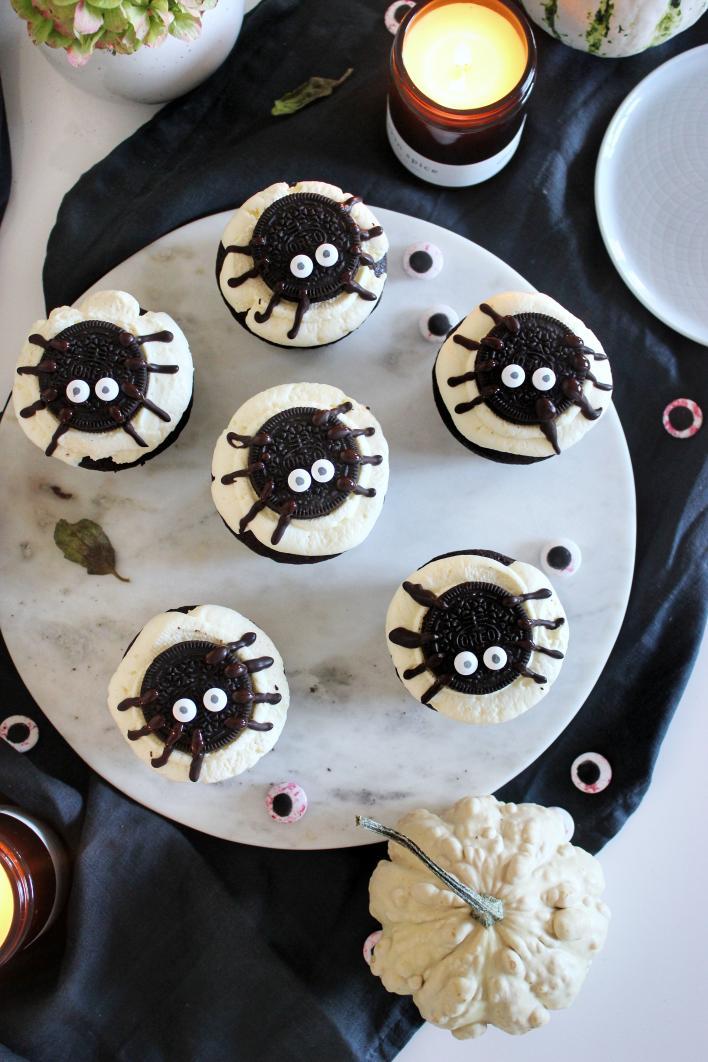 Halloween cupcake - Szűcs Réka - Ízből tíz konyhájából