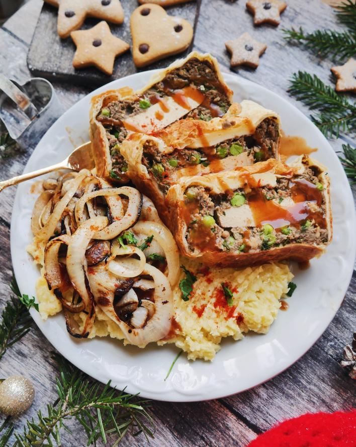 Zöldséges, tofus vegán Wellington - Noraspiration konyhájából