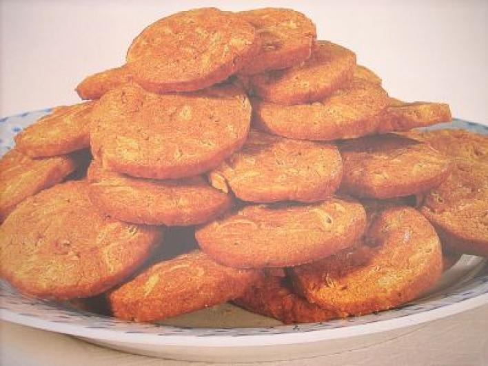 Csípős paprikakrémes keksz