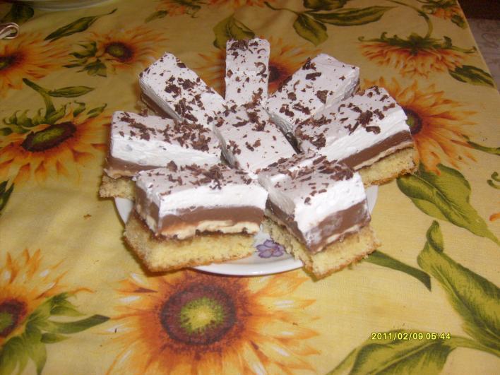 Mogyorókrémes süti