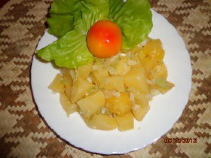 Hagymás-olíva olajos krumpli