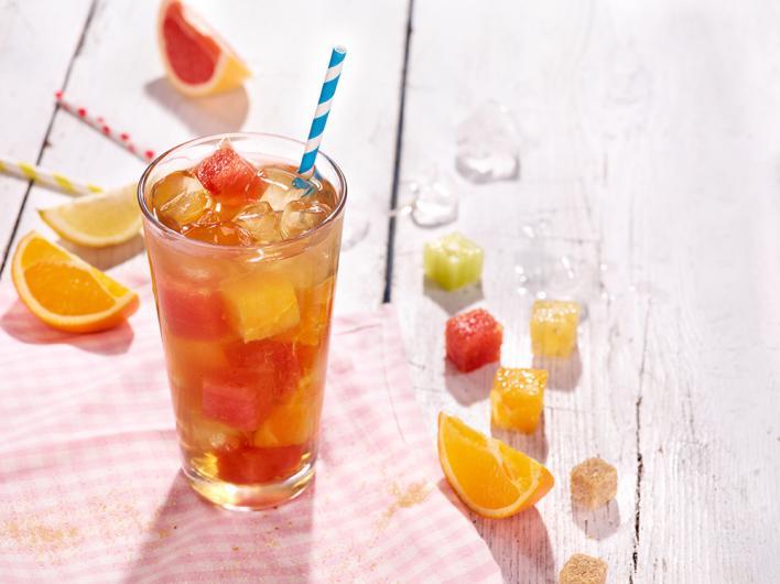 Citrus tea-limonádé