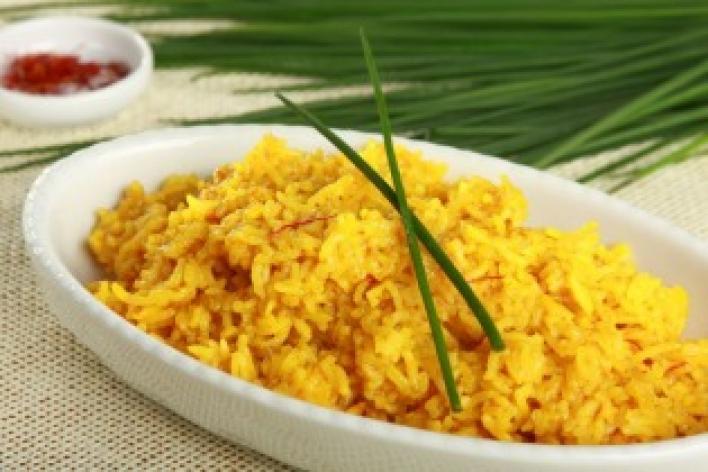 Sáfrányos rizs