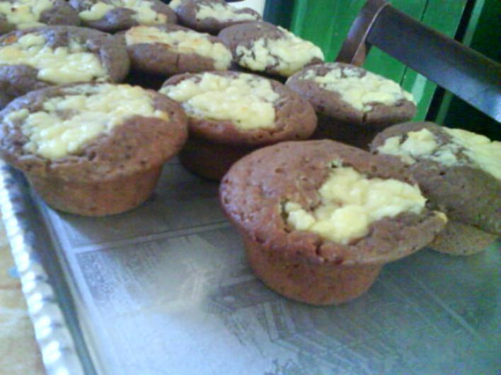 Búvártúrós muffin