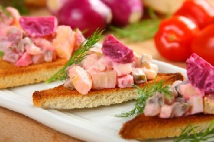Orosz céklás saláta