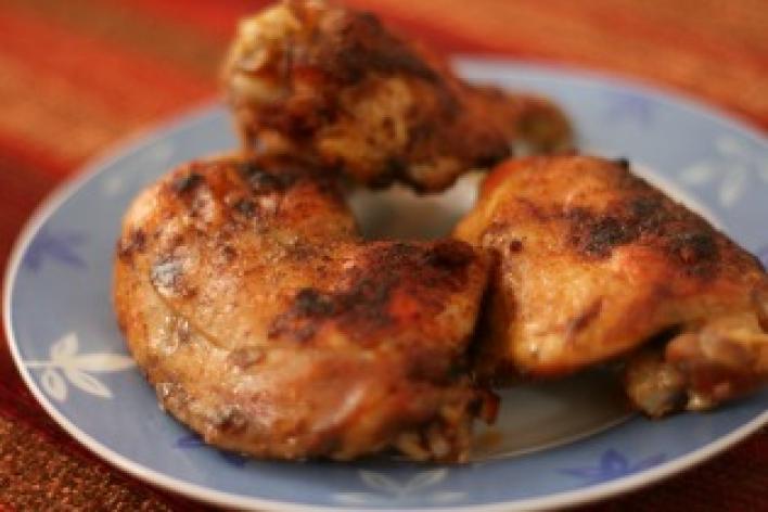 Magyaros sült csirke