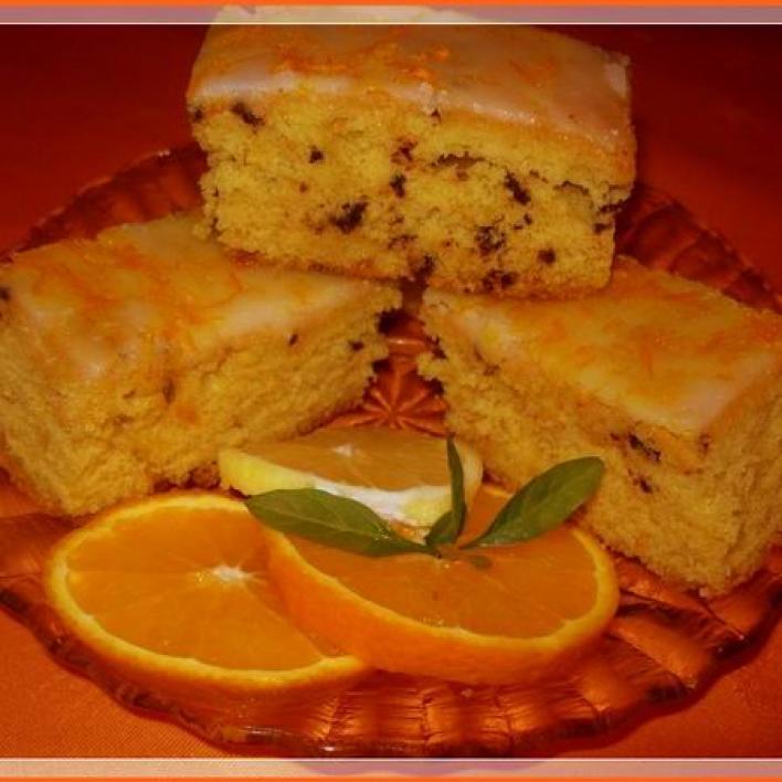 Narancsos, tortadarás süti
