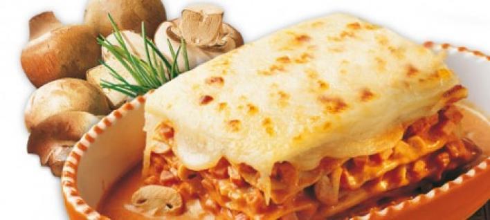 Húsos milánói lasagne