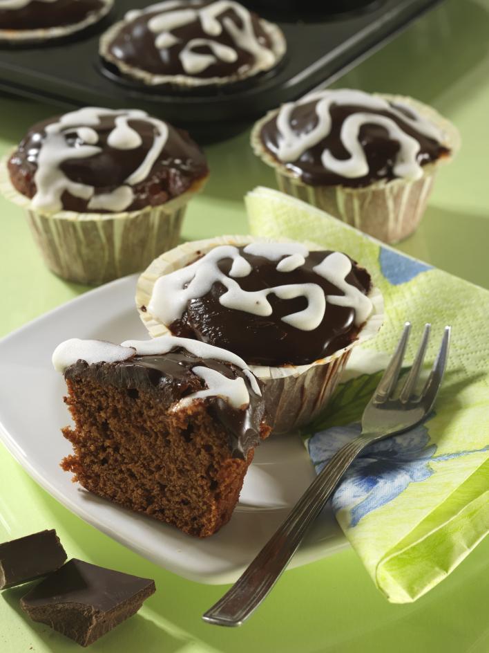 Sacher muffin