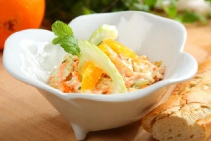 Frissítő saláta