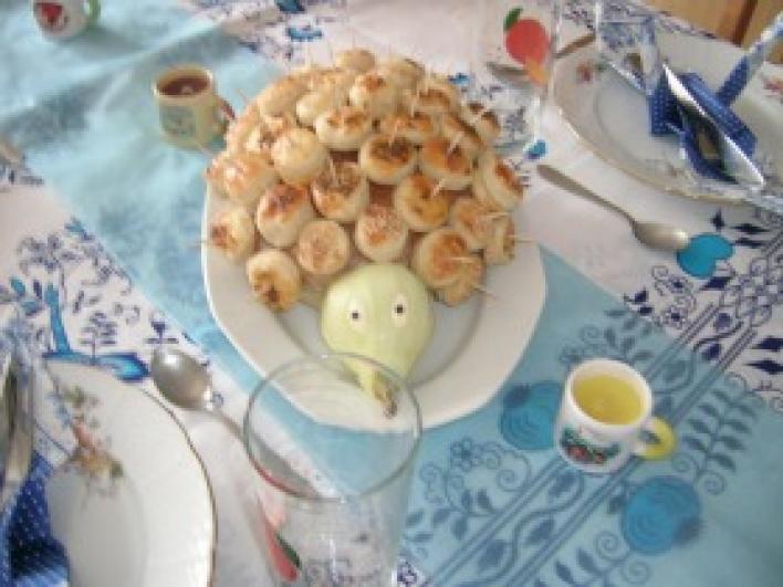 Pogácsás süni