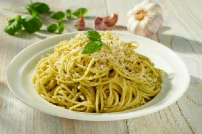 Pesto spagetti