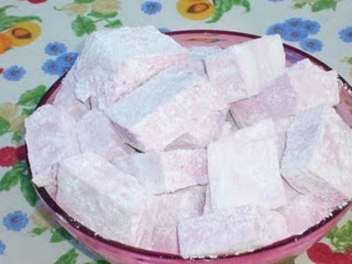 Mályvacukor, pillecukor (marshmallow)