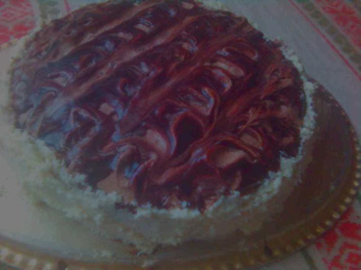 Kávés-kókuszos torta