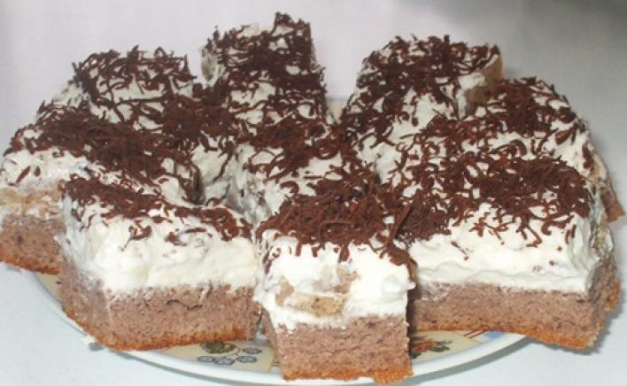 Gesztenyés sütemény