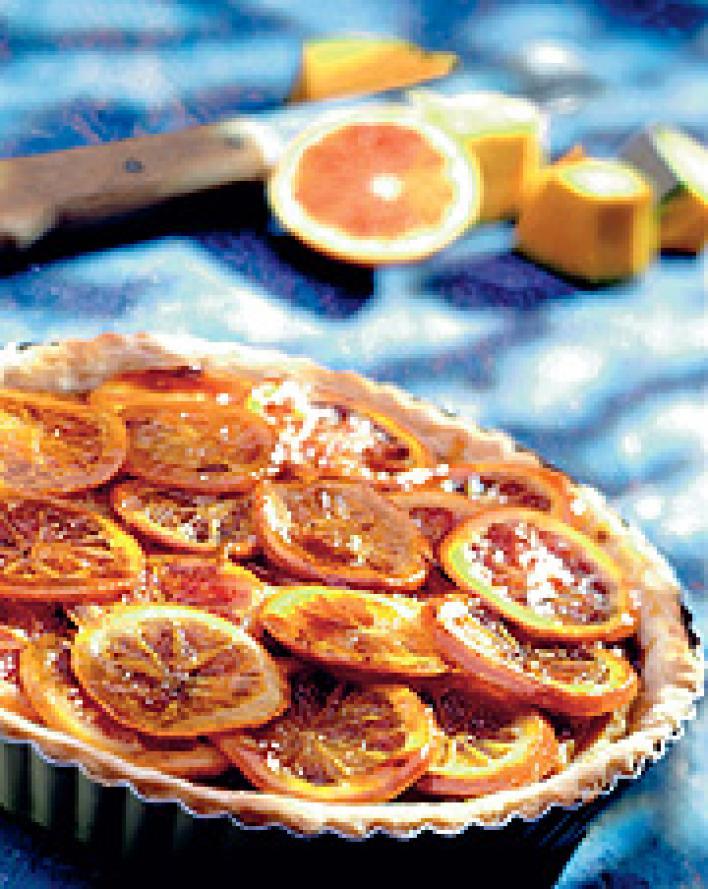 Narancsos töksütemény
