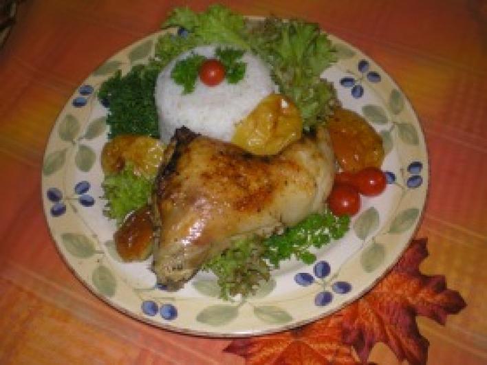 Almás csirkecomb