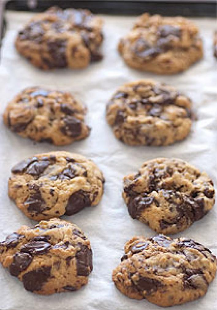 Cookies - a Télapó sütije